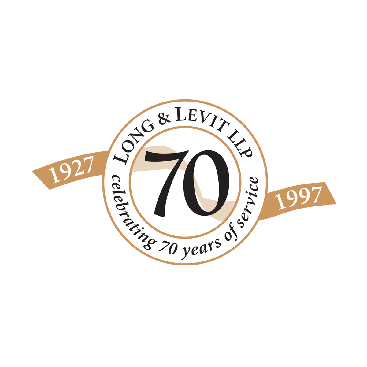 Long & Levit 70th logo