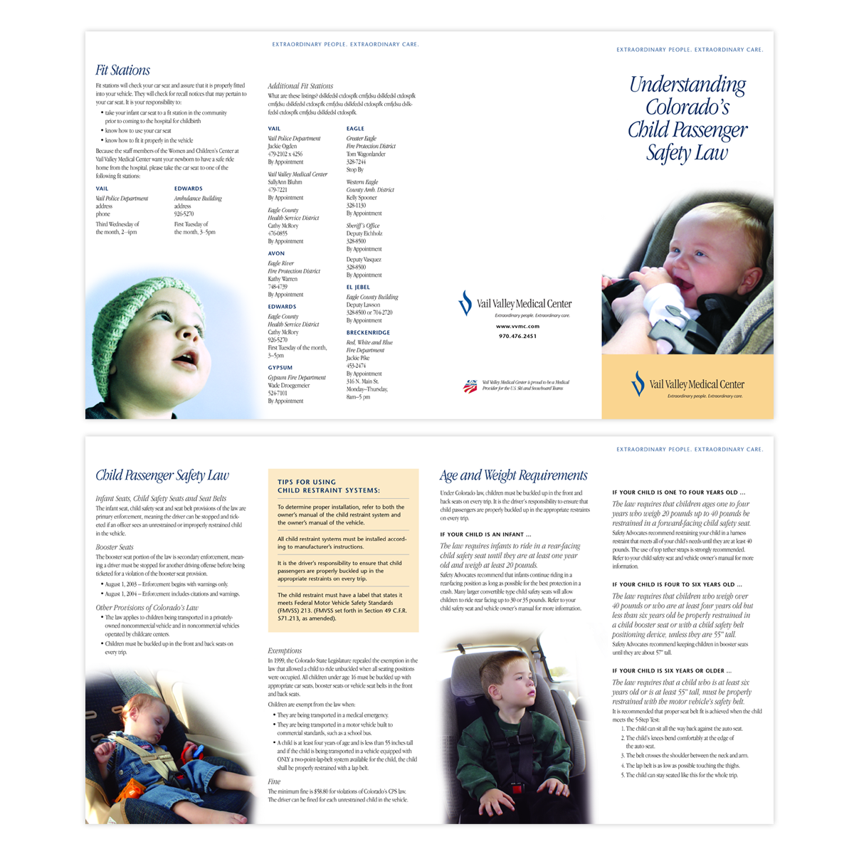 Hospital Informational Brochure | AreaType LLC